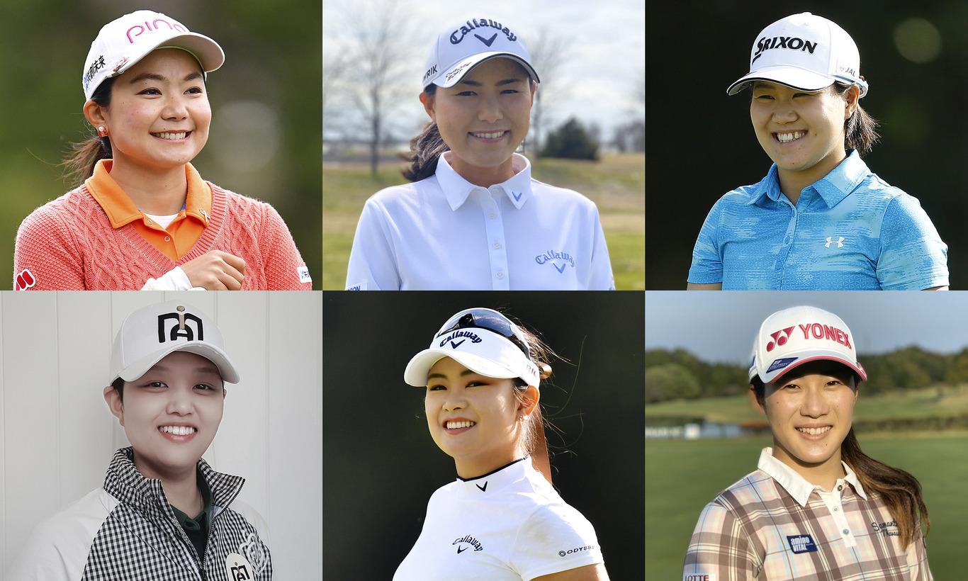 世界で戦う日本人選手6人の「今」~LPGA女子ゴルフツアー~