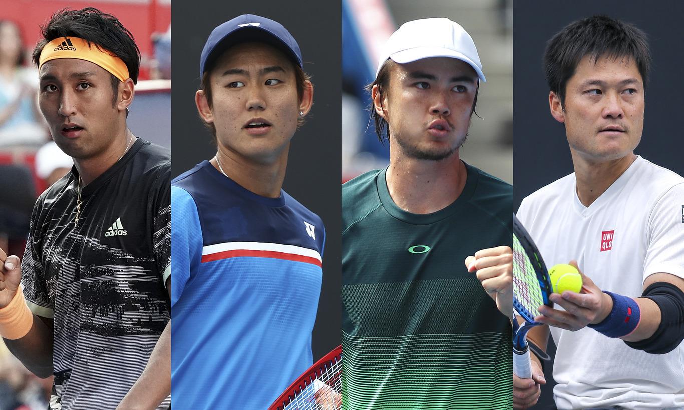 日本男子トップ選手集結!チャレンジテニス
