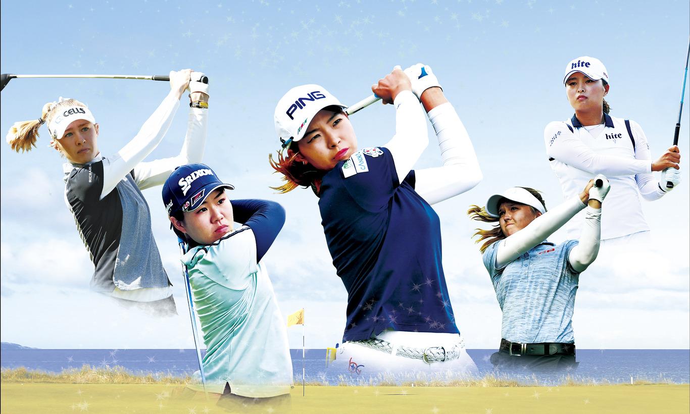 畑岡 出場!LPGA女子ゴルフツアー メジャー 全英AIG女子オープン第3日<前半>