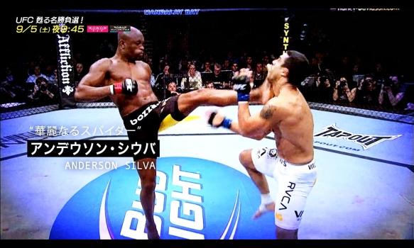 【UFC 甦る名勝負選!】華麗なるスパイダー「アンデウソン・シウバ」番組宣伝映像