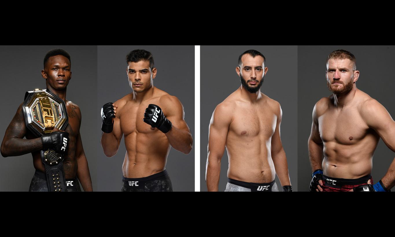 生中継!UFC-究極格闘技- UFC253 in アブダビ
