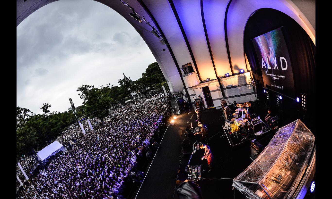[Alexandros] free live Back in Yoyogi Park!