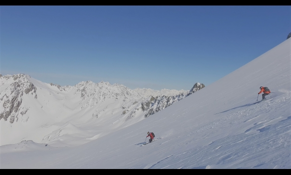 SKI TUNE 4K 爽快!ニュージーランドスキー Part-1 サザンアルプスの大自然~ヘリスキー/氷河スキー~