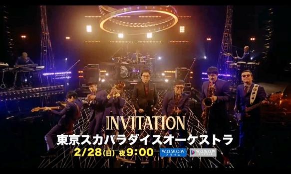 INVITATION/東京スカパラダイスオーケストラ プロモーション映像