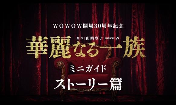 連続ドラマW 華麗なる一族/ミニガイド(ストーリー篇)