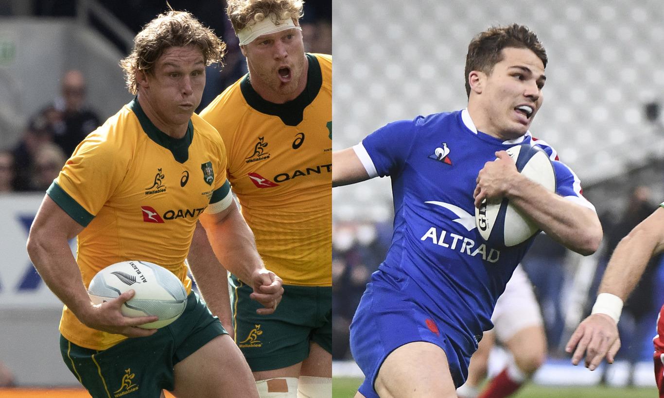 ラグビー テストマッチ 2021 オーストラリアvsフランス 第2戦