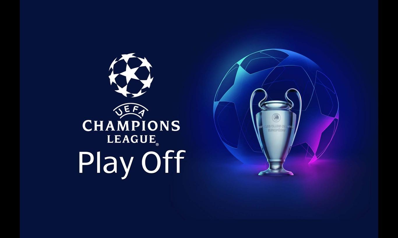 UEFAチャンピオンズリーグ2021-22シーズン プレーオフ 1st Leg