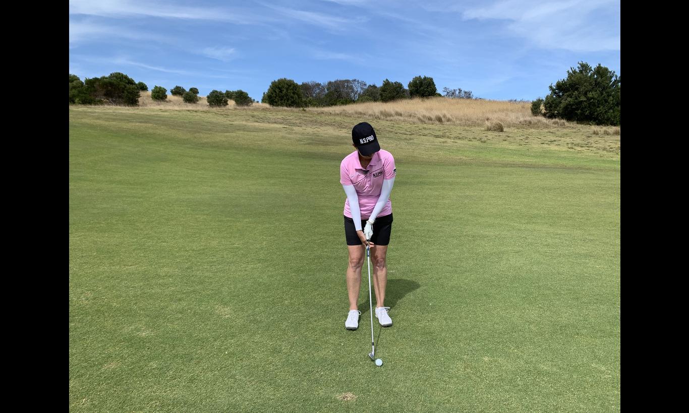 カリー・ウェブのゴルフ塾