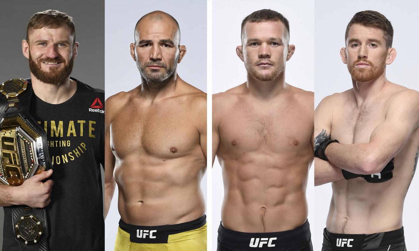 UFC-究極格闘技- UFC267 in アブダビ