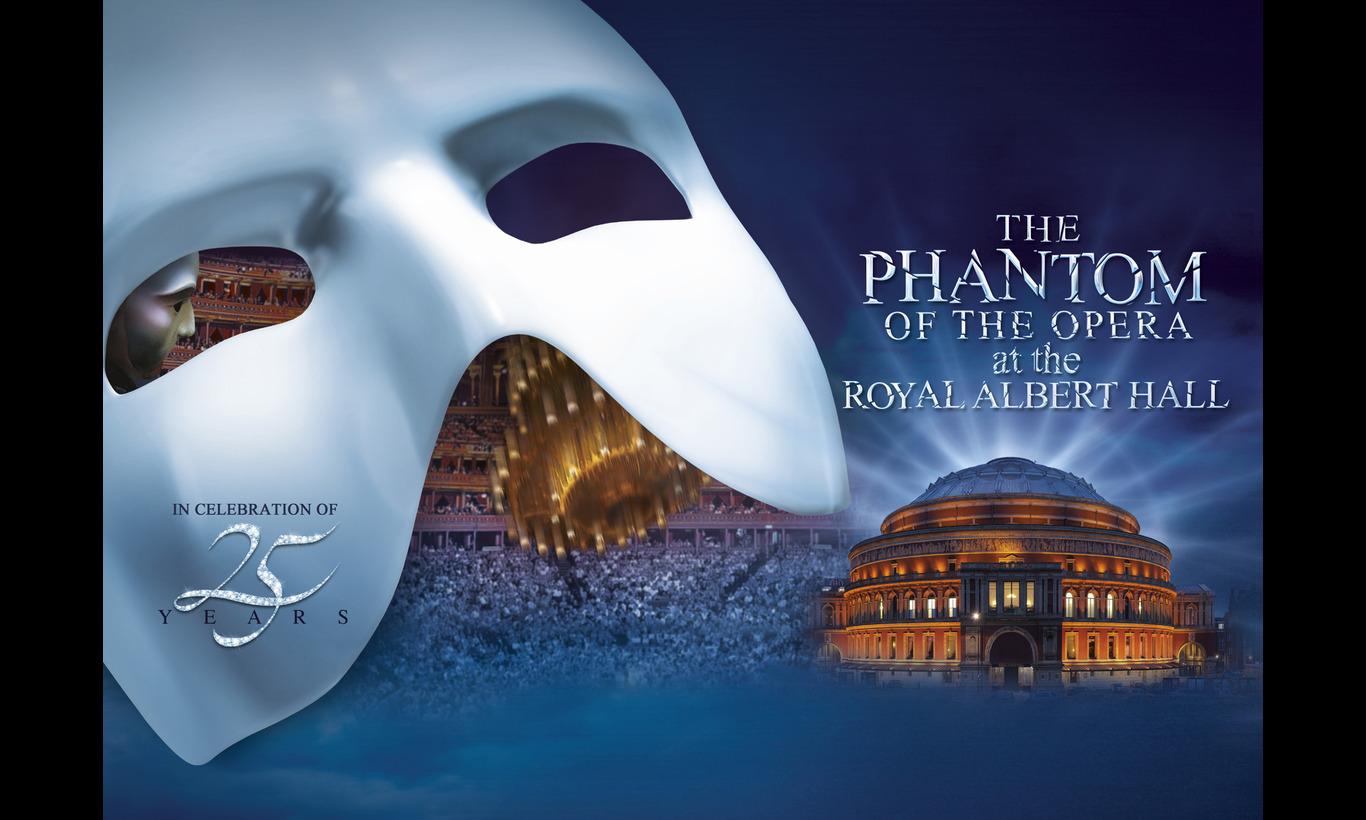 「オペラ座の怪人」25周年記念公演 in ロンドン