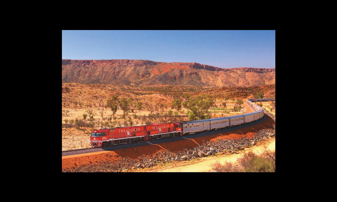 Railway Story オーストラリアの大地を行く
