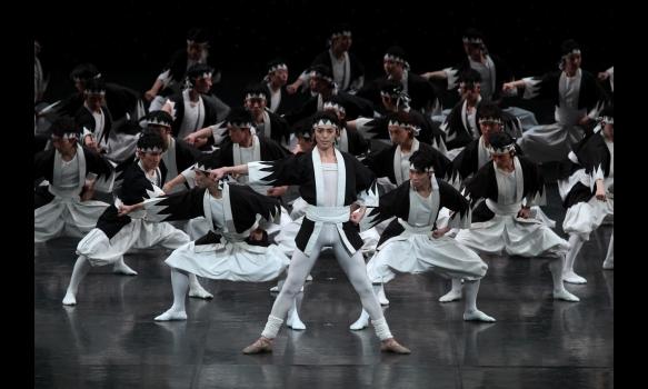 ベジャールの「ザ・カブキ」 東京バレエ団 ミラノ・スカラ座公演