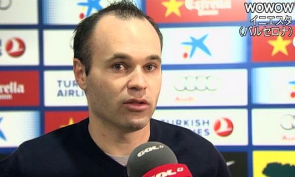 第23節 バルセロナvsヘタフェ 対戦後インタビュー (2013/2/10)