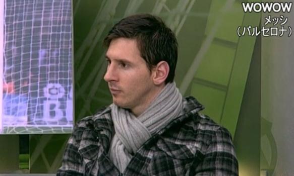 バルセロナ:メッシ インタビュー(2013/2/25)