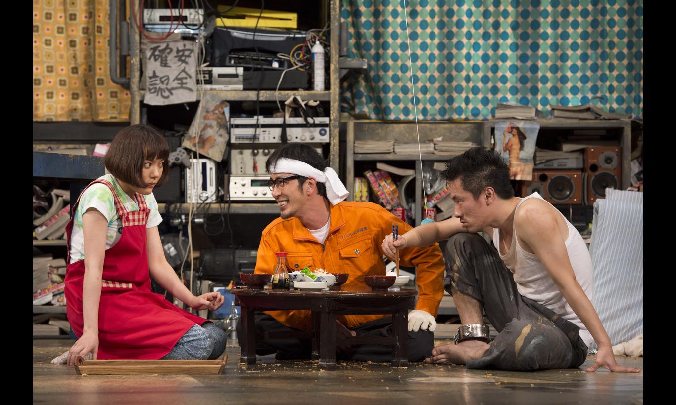 松尾スズキ作・演出「マシーン日記」(2013)