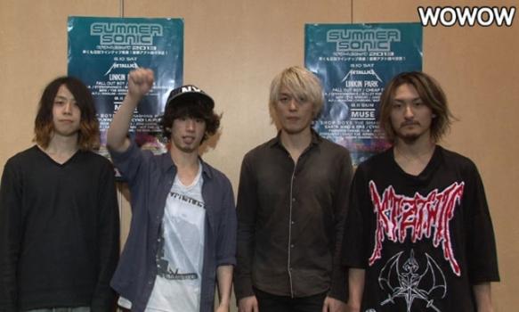 SUMMER SONIC 2013  出演者コメント/ONE OK ROCK