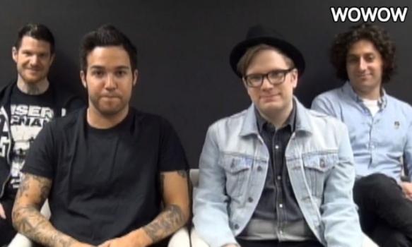 SUMMER SONIC 2013  出演者コメント/Fall Out Boy