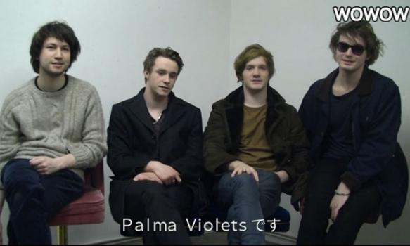 SUMMER SONIC 2013  出演者コメント/PALMA VIOLETS