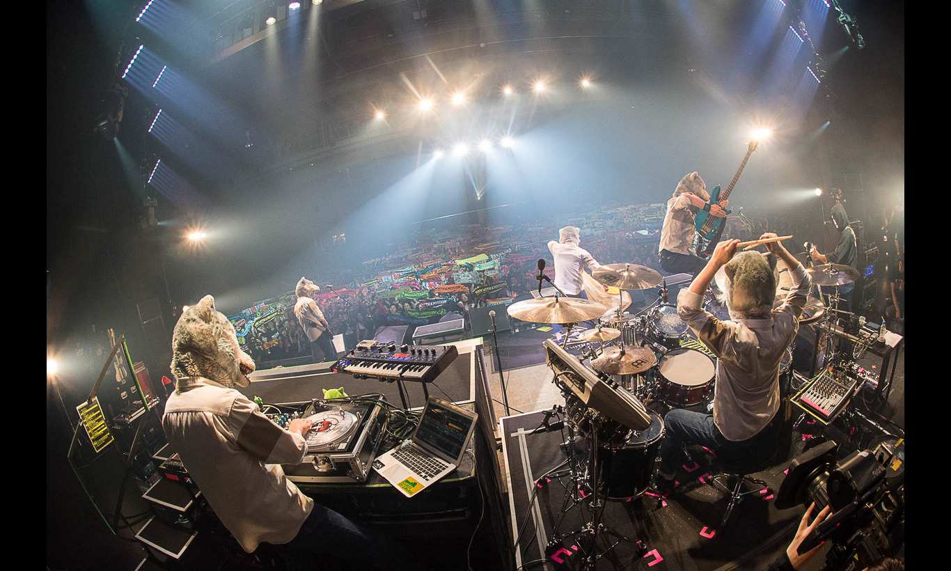 WOWOW×MAN WITH A MISSION「WOWGOW LIVE SHOW」