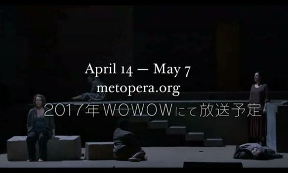 メトロポリタン・オペラ2015-16シーズン/METライブビューイングラインナップ