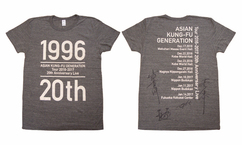 【ASIAN KUNG-FU GENERATION Tour 2016-2017 20th Anniversary Live 】メンバー全員のサイン入りツアーTシャツプレゼント!