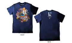 """【L'Arc~en~Ciel × WOWOW """"L'Anniversary"""" Special】L'Arc~en~Ciel「25th L'Anniversary LIVE」Tシャツ(WOWOW限定カラー)Mサイズプレゼント!"""