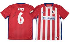 【サッカー】スペイン代表MFコケ(A・マドリード)直筆サイン入りユニフォームを1名様にプレゼント!