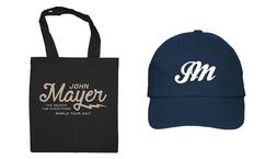 【洋楽主義】ジョン・メイヤー/オフィシャル トートバッグ、キャップをプレゼント!