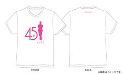 【生中継!谷村新司 45th CONCERT TOUR 2017 STANDARD】谷村新司45th × WOWOW コラボTシャツプレゼント!