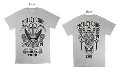 【洋楽主義】モトリー・クルー / オフィシャル Tシャツをプレゼント!