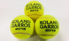 【テニス】全仏オープンテニス使用球(4回戦 錦織圭vsドミニク・ティーム)を6名様にプレゼント!