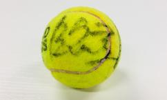 【テニス】錦織圭 直筆サイン入り!全仏オープンテニス使用球(3回戦 錦織圭vsジル・シモン)を3名様にプレゼント!