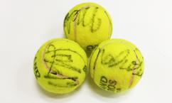 【テニス】穂積・二宮ペア直筆サイン入り!全仏オープンテニス使用球(女子ダブルス:決勝)を6名様にプレゼント!