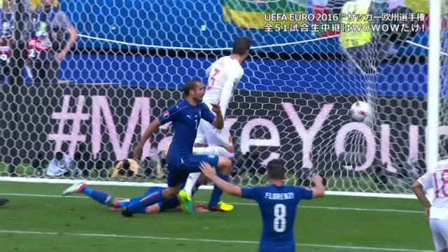 ベスト16 イタリア vs スペイン ...