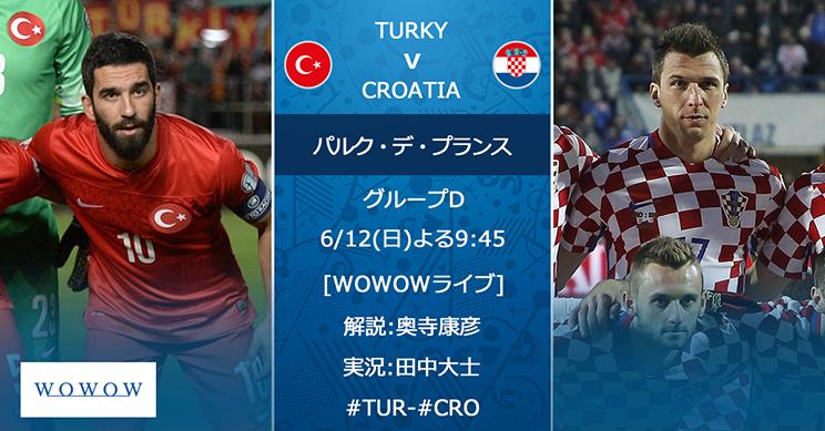 みどころ】グループD トルコ vs ...