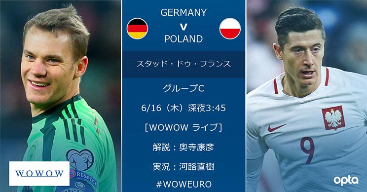 みどころ】ドイツ vs ポーランド...