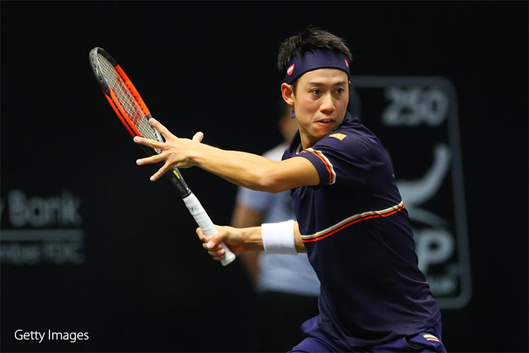 テニス錦織
